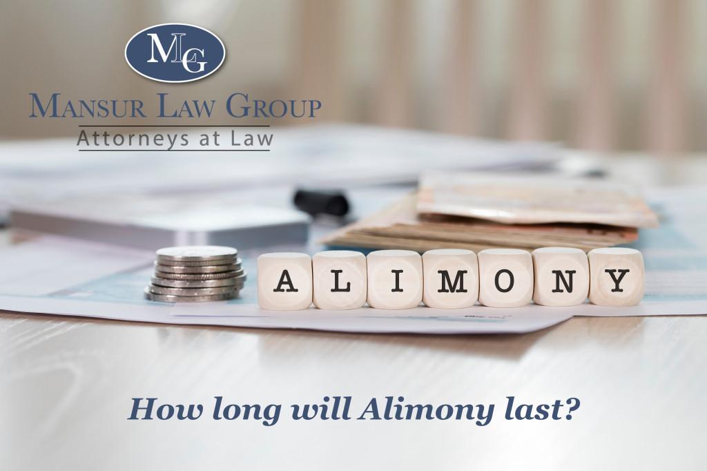 Mansur Law Blog- Alimony